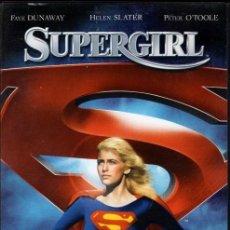 Cine: SUPERGIRL DVD: CON LOS MISMOS PODERES QUE SUPERMAN, PERO... MUCHO MAS SEXY ..Y ADORABLE.. Lote 222336953