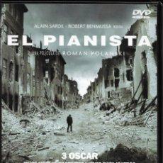 Cine: DVD EL PIANISTA. ALAIN SARDE. ROBERT BENMUSSA. Lote 222390317