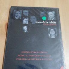 Cine: MEMÒRIA I OBLIT D'UNA GUERRA Nº 1 (PALMA, TRENCAMENT DE LA PAU / POLLENÇA, REPÚBLICA RESISTEIX) DVD. Lote 222393402