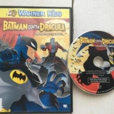 Cine: BATMAN CONTRA DRACULA WARNER KIDS DC - PELICULA DVD KREATEN. Lote 222393798