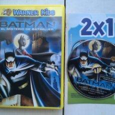 Cine: BATMAN EL MISTERIO DE BATIMUJER WARNER KIDS - PELICULA DVD KREATEN. Lote 222394227