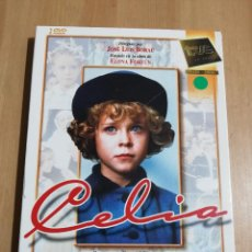 Cine: CELIA (DIRIGIDA POR JOSÉ LUIS BORAU) BASADA EN LA OBRA DE ELENA FORTÚN (DVD). Lote 222394237