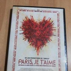 Cine: PARIS, JE T'AIME. HISTORIAS DE AMOR DESDE LA CIUDAD MÁS ROMÁNTICA DEL MUNDO (DVD). Lote 222394332