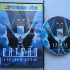 Cine: BATMAN LA MASCARA DEL FANTASMA WARNER KIDS - PELICULA DVD KREATEN. Lote 222394427