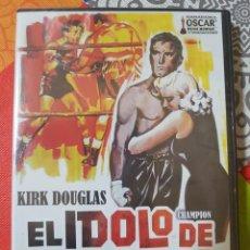 Cine: EL ÍDOLO DE BARRO CON KIRK DOUGLAS Y MAROLYN MAXWELL. UNA PELI MÍTICA. Lote 222394448
