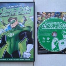 Cine: LO MEJOR DE GREEN LANTERN DC - PELICULA DVD KREATEN. Lote 222394792