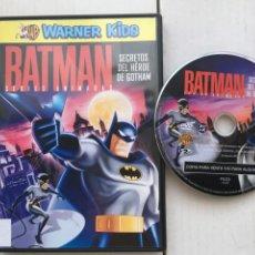Cine: BATMAN SECRETOS DEL HEROE DE GOTHAM WARNER KIDS - PELICULA DVD KREATEN. Lote 222394897