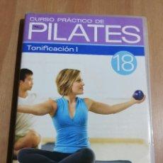 Cine: CURSO PRÁCTICO DE PILATES Nº 18. TONIFICACIÓN 1. NIVEL INTERMEDIO (DVD). Lote 222394907