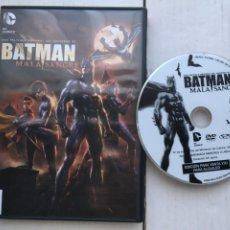 Cine: BATMAN MALA SANGRE DC COMICS - PELICULA DVD KREATEN. Lote 222395298