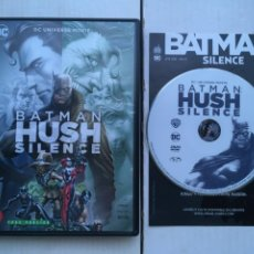 Cine: BATMAN HUSH DC UNIVERSE - PELICULA DVD KREATEN. Lote 222395416