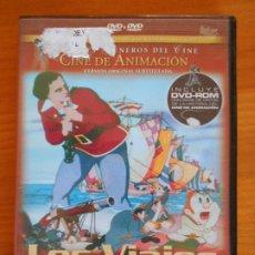 Cine: DVD LOS VIAJES DE GULLIVER - DAVE FLEISCHER (IA). Lote 222413167