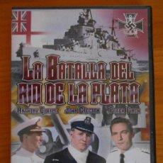 Cine: DVD LA BATALLA DEL RIO DE LA PLATA - ANTHONY QUAYLE, JOHN GREGSON (IA). Lote 222422587
