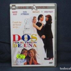 Cine: DOS POR EL PRECIO DE UNA - DVD. Lote 222471840