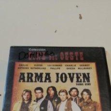 Cinema: G-46 DVD CINE NUEVO PRECINTADO ARMA JOVEN EMILIO ESTEVEZ KIEFER SUTHERLAND. Lote 222488361
