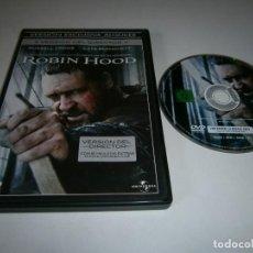 Cine: ROBIN HOOD VERSION DEL DIRECTOR DVD RUSSELL CROWE. Lote 222513027