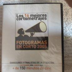 Cine: LOS 16 MEJORES CORTOMETRAJES FOTOGRAMAS EN CORTO 2005. Lote 222542166