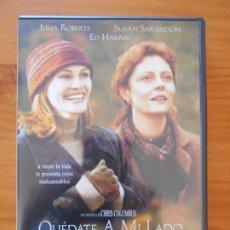 Cine: DVD QUEDATE A MI LADO - JULIA ROBERTS, SUSAN SARANDON, ED HARRIS (5T). Lote 222542180