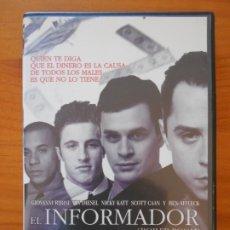 Cine: DVD EL INFORMADOR (BOILER ROOM) - GIOVANNI RIBISI, VIN DIESEL (5T). Lote 222542680