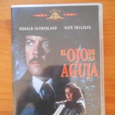 Cine: DVD EL OJO DE LA AGUJA - DONALD SUTHERLAND, KATE NELLIGAN (6C). Lote 222543303