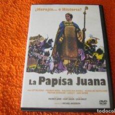 Cine: LA PAPISA JUANA / DESCATALOGADA. Lote 222543646
