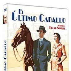 Cine: EL ÚLTIMO CABALLO [DVD]. Lote 222546448