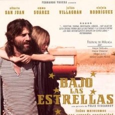 Cine: BAJO LAS ESTRELLAS (ALBERTO SAN JUAN, EMMA SUAREZ) - DVD NUEVO Y PRECINTADO. Lote 222547351