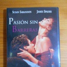 Cine: DVD PASION SIN BARRERAS - SUSAN SARANDON, JAMES SPADER (FI). Lote 222583356