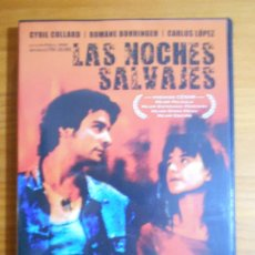 Cine: DVD LAS NOCHES SALVAJES - CYRIL COLLARD, ROMANE BOHRINGER (FI). Lote 222584081