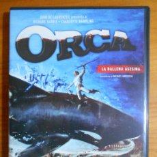 Cine: DVD ORCA - LA BALLENA ASESINA (FI). Lote 222584855