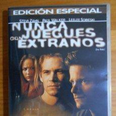 Cine: DVD NUNCA JUEGUES CON EXTRAÑOS - EDICION ESPECIAL (FI). Lote 222586247