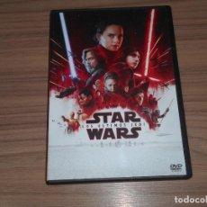 Cine: STAR WARS LOS ULTIMOS JEDI DVD COMO NUEVA. Lote 222588338