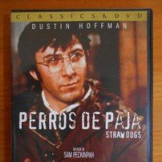 Cine: DVD PERROS DE PAJA - STRAW DOGS - DUSTIN HOFFMAN (HV1). Lote 222643981