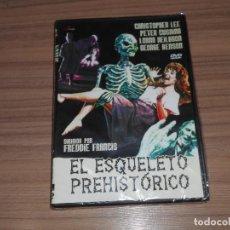 Cine: EL ESQUELETO PREHISTORICO DVD CHRISTOPHER LEE PETER CUSHING NUEVA PRECINTADA. Lote 222644381