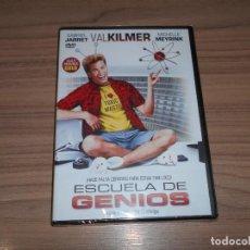 Cine: ESCUELA DE GENIOS DVD VAL KILMER NUEVA PRECINTADA. Lote 295038978