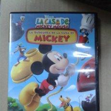 Cine: LA CASA DE MICKEY MOUSE - LA BUSQUEDA DE LA CASA DE MICKEY. Lote 222690875