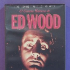 Cine: EL EXTRAÑO UNIVERSO DE ED WOOD [DVD] - 3 DISCOS. Lote 222697258