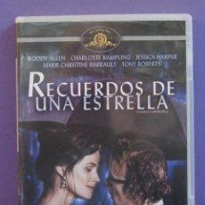 Cine: RECUERDOS DE UNA ESTRELLA [DVD] - WOODY ALLEN / CHARLOTTE RAMPLING. Lote 222698332