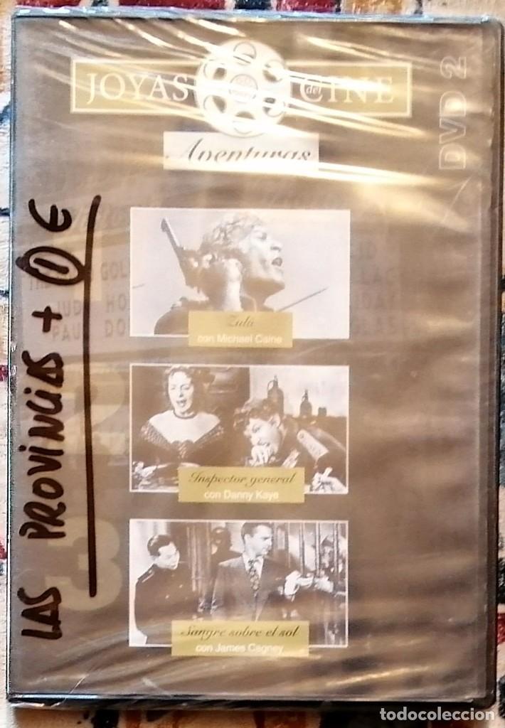 DVD JOYAS DEL CINE DE AVENTURAS 2 (Cine - Películas - DVD)