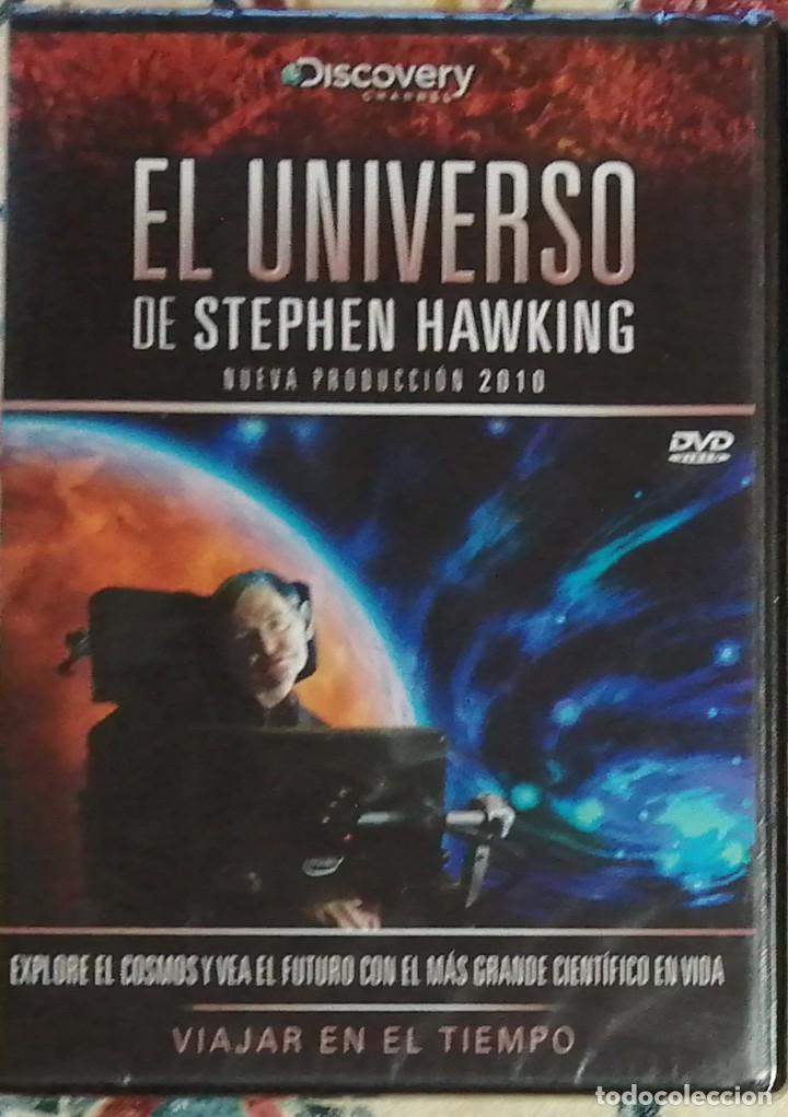 LOTE 2 DVD EL UNIVERSO DE STEPHEN HAWKING (Cine - Películas - DVD)