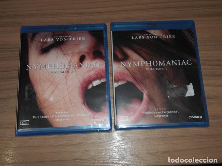 NYMPHOMANIAC NINFOMANA PARTE 1 + 2 2 BLU-RAY DISC DE LARS VON TRIEN 278 MIN. NUEVO PRECINTADO (Cine - Películas - DVD)
