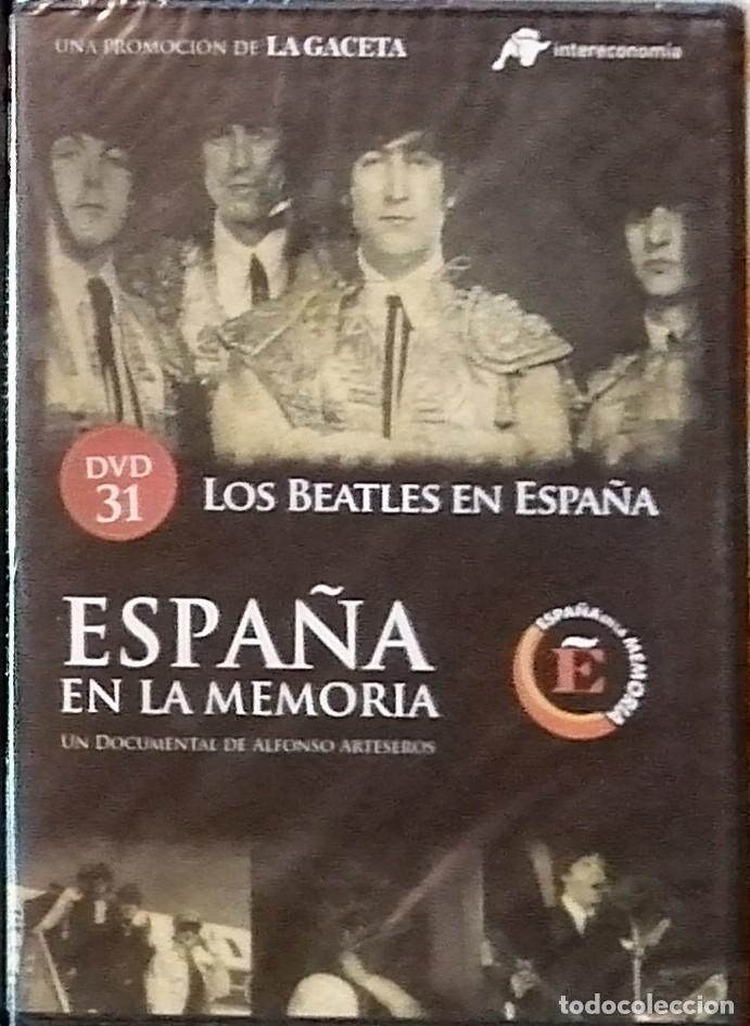 DVD ESPAÑA EN LA MEMORIA 31 LOS BEATLES EN ESPAÑA (Cine - Películas - DVD)