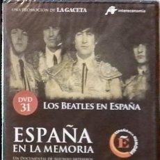 Cine: DVD ESPAÑA EN LA MEMORIA 31 LOS BEATLES EN ESPAÑA. Lote 222849137