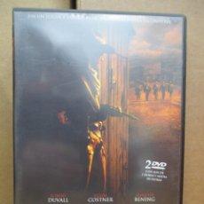 Cine: DVD - OPEN RANGE / ROBERT DUVALL / KEVIN COSTNER - 2 DISCOS - PEDIDO MINIMO DE 10€. Lote 222874211