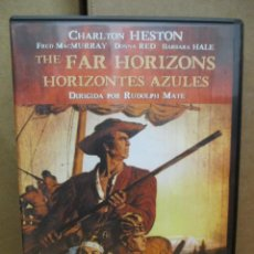 Cine: DVD - HORIZONTES AZULES - CHARLTIN HESTON / FRED MACMURRAY - PEDIDO MINIMO DE 10€. Lote 222874337