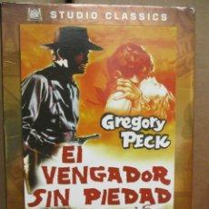 Cine: DVD - DEL VENGADOR SIN PIEDAD / GREGORY PECK - PEDIDO MINIMO DE 10€. Lote 222874591