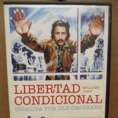 Cine: DVD - LIBERTAD CONDICIONAL / DUSTIN HOFFMAN - PEDIDO MINIMO DE 10€. Lote 222875295