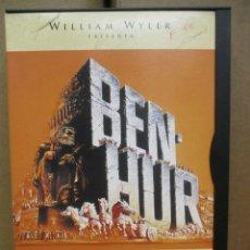 Cine: DVD - BEN HUR / CHARLTON HESTON - 11 OSCARS - PEDIDO MINIMO DE 10€. Lote 222875410
