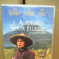 Cine: DVD - EL ALBERGUE DE LA SEXTA FELICIDAD / INGRID BERGMAN - PEDIDO MINIMO DE 10€. Lote 222875583