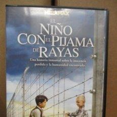 Cine: DVD - EL NIÑO CON EL PIJAMA DE RAYAS - PEDIDO MINIMO DE 10€. Lote 222875828