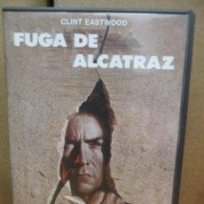 Cine: DVD - FUGA DE ALCATRAZ / CLINT EASTWOOD - PEDIDO MINIMO DE 10€. Lote 222876413